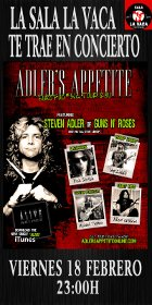 ADLER'S APPETITE (ex guns and roses)