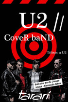 cARTEL TRIBUTO A U2